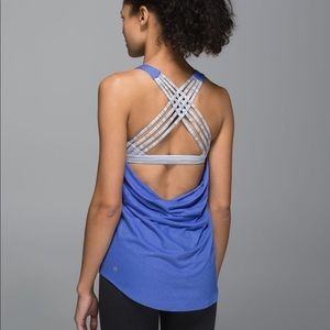 Lululemon Wild Tank Harbor Blue 10